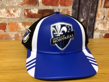 adidas Montreal Impact  Official MLS Retro Cap Blue and White