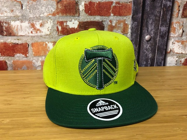adidas Portland Timbers  Official MLS Retro Cap Green and Yellow