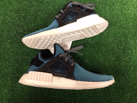 adidas NMD XR1 PK Trainers Green Black and White Size 9
