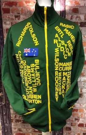 adidas Australia 1974 World Cup Tribute Jacket Size Large