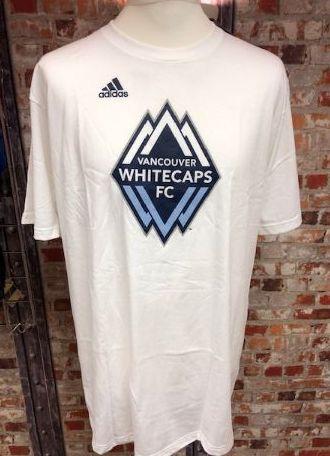 adidas Vancouver Whitecaps MLS Retro T-Shirt Size Small