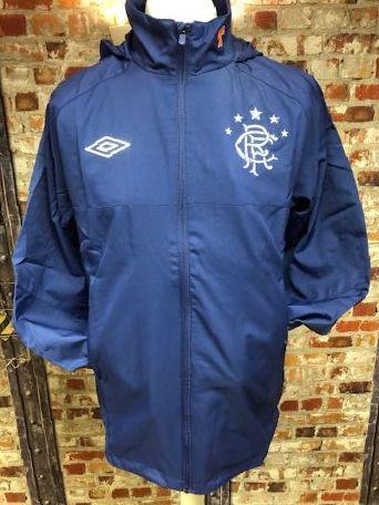 Umbro Offical Glasgow Rangers Shower Jacket Size Medium
