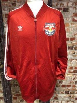 adidas New York Red Bulls Baseball Style Track Jacket Red  Size XXL