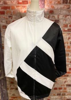 adidas Originals EQT Retro Track Jacket  White and Black Size Medium