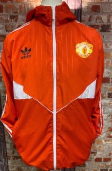 adidas Originals Manchester United Windbreaker Size Large