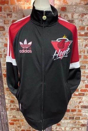 adidas Originals Miami Heat US Import Track Jacket Size Large