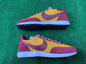 Nike Tailwind 79 Red and Yellow  Retro Trainers Size 9