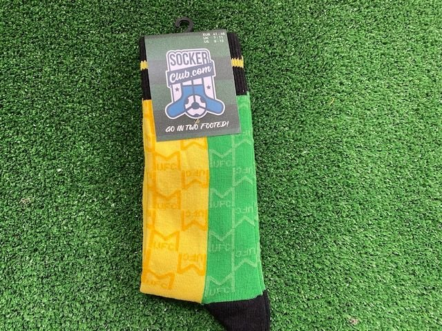 Retro Republic of Ireland Themed Crew Socks