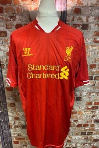 Liverpool Warrior 2014 Home Shirt Size XXL Mens