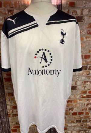 2010/11 Totenham Hotspur Home Shirt White and Navy Size XXL