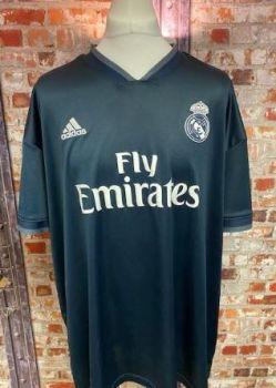 Real Madrid adidas 2018/19 Away Shirt Size XXXL Mens