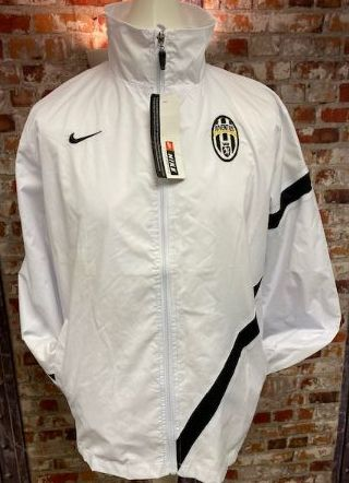 Nike Juventus Lightweight Training  / Shower Jacket White and Black Size XL