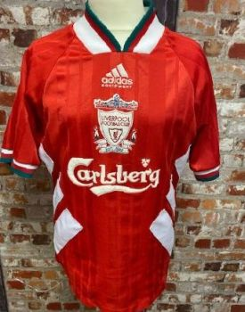 1993/95 adidas Liverpool  Home Shirt Size 30/32'' Chest