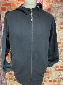 Ellesse Full Zip Carminati Black Out Hoody Size XL