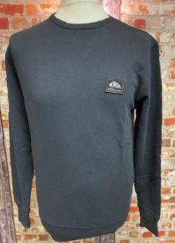 Ellesse Retro Bufalino Black Sweatshirt Size Medium