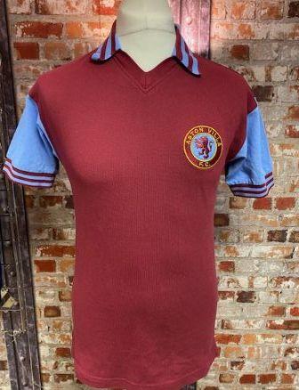 Aston Villa Scoredraw 1980/81 Home Shirt Size Small