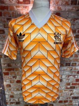 1988 adidas Holland Original Home Shirt Medium Mens