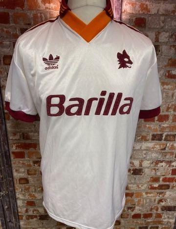 1991/92 adidas Roma Away Shirt Size Medium - needs description