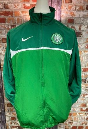 Nike Celtic Dri Fit Training Jacket Green Size Large