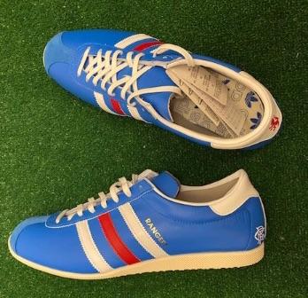 adidas Overdub Custom Rangers Trainers Blue Size 10