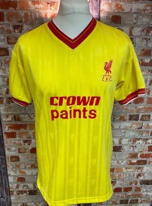 Scoredraw Liverpool 1985/86  Retro Away Shirt Size Medium