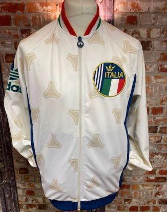 adidas Originals 2013 Italy Track Jacket White Size Large