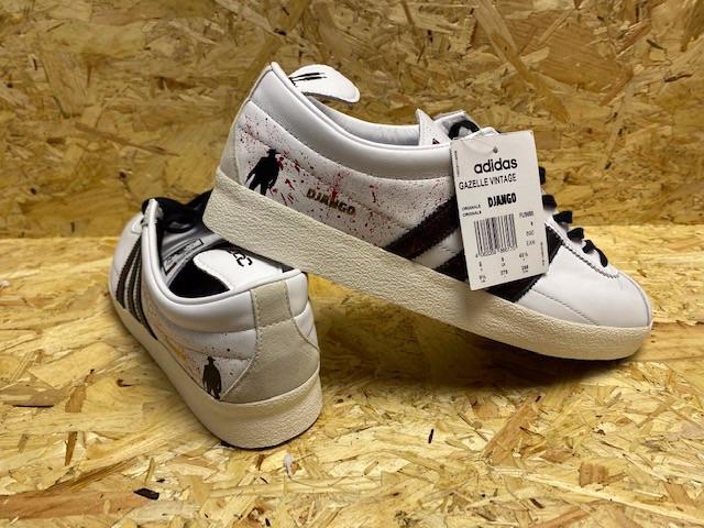 adidas Gazelle OG Custom Django Trainers Size 9