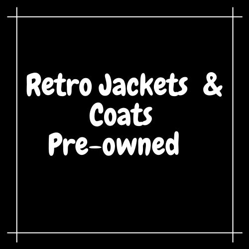 Retro Track Jackets & Coats - Pre Owned