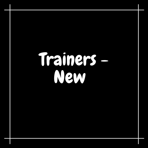 Trainers - New