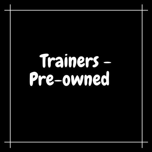 Trainers - Pre Owned