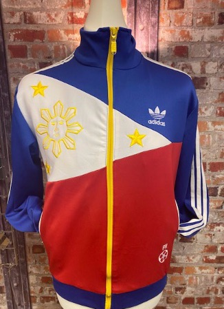 adidas Philippines Track Jacket Red, Blue and White Size Small
