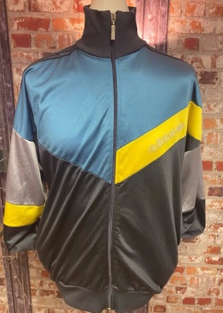 adidas 90s Track Jacket Green , Grey and Yellow Size XL