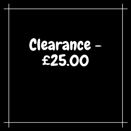 Clearance - £25.00