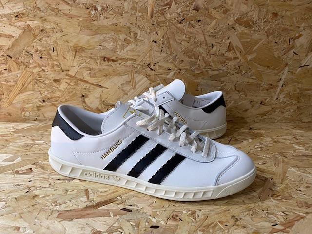 adidas Hamburg Off White Custom Trainers Size 10