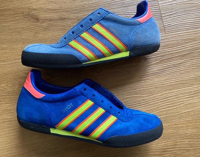 adidas Shot 2003 Custom Dublin Blue Trainers Size 5