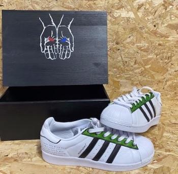 adidas Superstar Custom Morpheus x Matrix Trainers Size 9