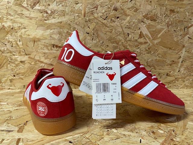 adidas Munchen Eriksen x Craig's Heartsrong Foundation Custom Trainers Size