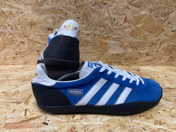 adidas Daley Thompson Trainers 2010 Trainers Blue and White Size 10