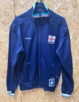 adidas England Euro 96 Gazza Tribute Track Jacket Size M