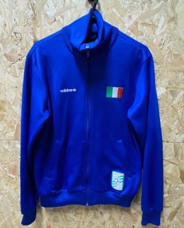 adidas Italia 2008 Track Jacket Blue Size Small