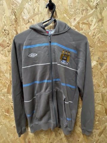Vintage Umbro Manchester City Full Zip Hoody