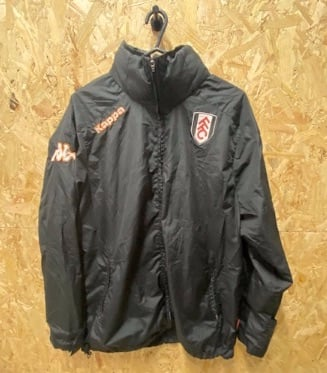 Kappa Fulham 2010 Black Showerproof Jacket Size Large