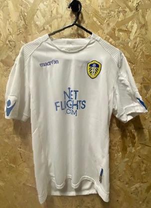2010/11 Macron Leeds United Home Shirt Size Small