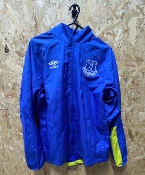 Umbro Everton Vintage Warm Up Jacket Royal Blue