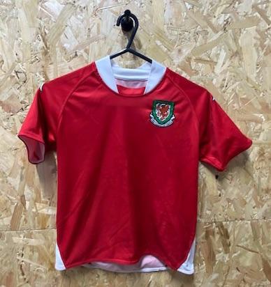 Kappa Wales 2007/08 Home Shirt Age 7-8 Years