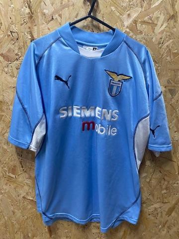 2001/02 Lazio Puma Home Shirt Sky Blue SIze XL