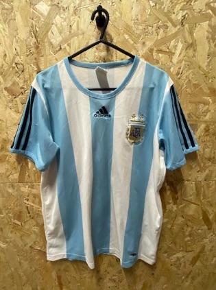 2007/09 adidas Argentina Home Shirt Size Medium Mens