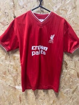 Scoredraw Liverpool 1986 Retro Home Shirt Size Small