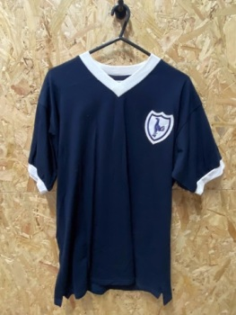 Totenham Hotspur Scoredraw 1962  Retro Away Shirt Size Large