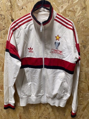 adidas AC Milan 2004 Special Edition Track Jacket White , Red & Black Size